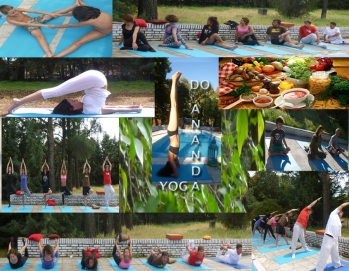 COLOLAGE DO ANANDA YOGA