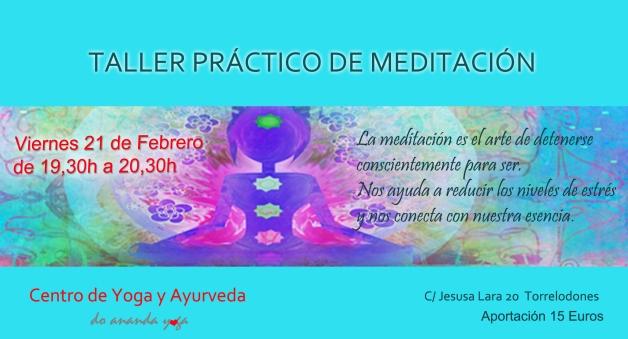 taller meditacion